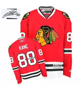 NHL Patrick Kane Chicago Blackhawks Authentic Home Autographed Reebok Jersey - Red